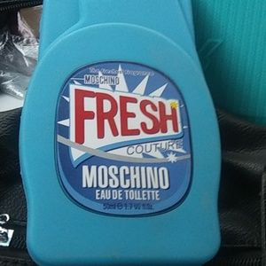 Moschino couture phone case